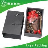 Картона цветка подарка черноты коробка предварительного бумажная/упаковывая коробка подарка для рождества