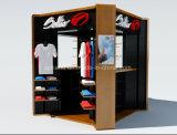 Cabina ambulante dell'interno del chiosco di Cutomized per gli indumenti/maglietta