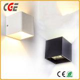 Apliques de LED Lámparas de exterior de aluminio decorativo LED IP65 Lampara de pared con Ce RoHS Las lámparas LED