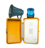 Sendung, die Hochleistungstelefon-Vandalen-beständiges Telefon paginiert