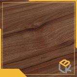 Grain du bois de noyer clair papier décoratif pour meubles