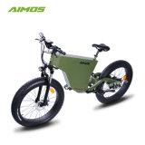 26inch 4.0隠された電池が付いている脂肪質のタイヤ1000Wの電気バイク