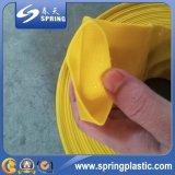 Boyau plat d'irrigation de configuration flexible de PVC