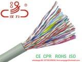 Le câble LAN Cat5e ajoutent le câble extérieur de réseau de fil de messager