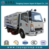 Sinotruk HOWO 4X2 4m3 Road Sweeper chariot Hot Sale