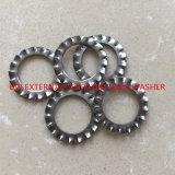 Rondelle de freinage dentelée par External de l'acier inoxydable DIN6798A-M6