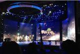 Mur de haute qualité de l'écran Affichage LED P4 intérieure pleine couleur