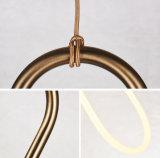 Lampes pendantes de fer moderne en gros pour des lumières de barre de café