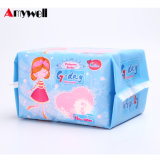Fournisseur organique d'essuie-main de serviette hygiénique de femmes de garniture sanitaire de tampon de coton