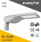 CC solare dell'indicatore luminoso di via di Everlite 50W LED 12/24V