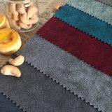 Tessuto brillante del sofà della tappezzeria di Velboa del velluto