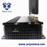 6本のアンテナ携帯電話3G Lojack及びRFの妨害機(GSM、CDMA、DCS、PCS、3G、LOJACK、RF315MHz/433MHz)
