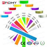 Farbenreiches Druckendruck-RFID Tyvek Wristband