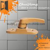 Новый продукт высокого качества цинкового сплава порошковое покрытие краской дверной замок безопасности для заводская цена