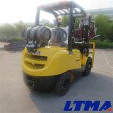 Matériel de levage de Ltma chariot élévateur de LPG de 2.5 tonnes avec le mât 3-Stage
