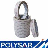 Re-Peelable Double-Coated con cinta adhesiva fuerte tejido Unwoven