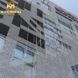 Revestimiento de madera exterior de aluminio de Pefrorated