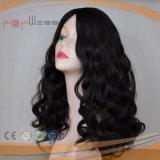 Natürliche brasilianische Haar-Wellen-Art-Haut-Oberseite-Frauen-Perücke (PPG-l-0974)