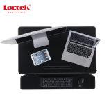 A altura ergonómica da mola de gás do escritório de Loctek Mt105m ajustável Sentar-Está a estação de trabalho Desktop para a mobília da tabela