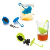 Hot Sale Flower Shape Silicone Tea Filter (YB-AB-017)
