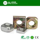 Из углеродистой стали с внутренним шестигранником квадратных тонкие контргайку (DIN439)