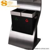 L'acciaio inossidabile classifica la pattumiera/Ashbin per l'ingresso dell'hotel (SITTY 92.1072D)