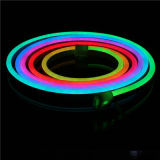 Décoration de contour de construction étanche Multi-Color 24V néon LED RGB Flex