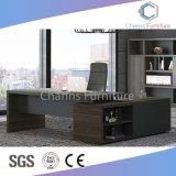 Nueva llegada de 2,4 millones de escritorio de madera en forma de L mesa de oficina (CAS-ED31411)
