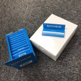 1600feuilles chanvre biologique écrus Cigarette la taille de papier à rouler 1 1/4