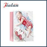 Saco de papel impresso do presente da compra do Natal do bebê do sono projeto por atacado
