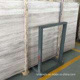 China-weißes Holz Veins Marmor für Platten und Fliesen