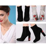 Les meilleures chaussures de vente de femmes de mode de chaussures de dames brodées par type folklorique