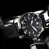 De Waterdichte Mensen 3ATM van het Horloge van het Kwarts van de Riem van het silicone