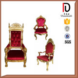 El Wedding adornando a rey usado Throne Chair Br-LC023