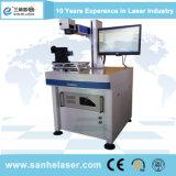 Haut de marquage au laser à fibre Precison/machine de gravure de métal et Non-Metal
