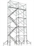 남아메리카 최신 판매 안전 건축 비계 사다리 프레임