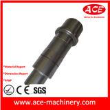 Peça fazendo à máquina do CNC da precisão do OEM do revestimento do pó preto