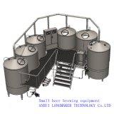 bosquejo de la cervecería del acero inoxidable 300L pequeños/cerveza de barril comerciales que hace la máquina