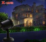 2018 nova Vinda Outdoor/Luz de Natal Laser Star Projector de luz laser