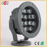 Proiettore esterno dell'indicatore luminoso 12With18With24With36With48W LED per illuminazione di inondazione esterna di illuminazione LED
