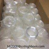 Baibo 유백색 백색 융합된 나선형 석영 배관