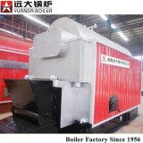 Carbone orizzontale della caldaia a vapore di Dzl 2000kg 6000kg di risparmio di temi di 85% infornato