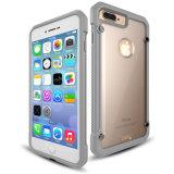 Los golpes de Combo potente disco duro híbrido de plástico celular a granel de TPU para iPhone 7 Más