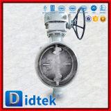 Didtek dreifaches ExzenterWcb Form-Stahl-Schweißungs-Drosselventil