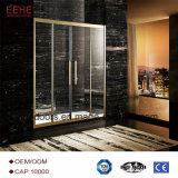 Sala de ducha de mejor venta Receptáculo de ducha de 3 caras