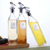 Glasolivenöl Vinger Flasche eingestellt mit Leck-Beweis-Kappe