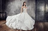 Amelie 바위 같은 2018 구슬로 만드는 공주 Wedding Bridal Dress