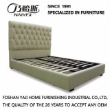 저장 공간 (M003)를 가진 미국 대중적인 작풍 직물 가스 상승 침대