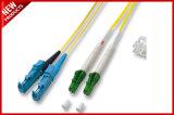 3.0mm FC к шнуру заплаты OS2 симплексного волокна FC оптически