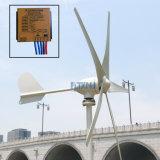 Neue niedrige Schaufel-laufen das kleine Wind-Tausendstel des Wind-400watt des Generator-5 Wind-Generator mit MPPT Niederspannungs-Erhöhungs-Wind-Controller an